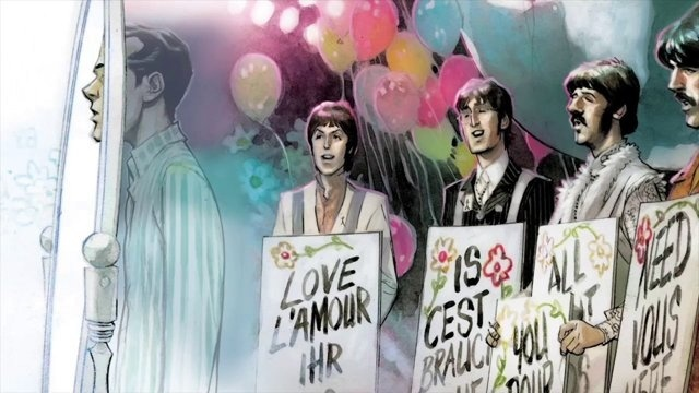 THE FIFTH BEATLE Graphic Novel Trailer
