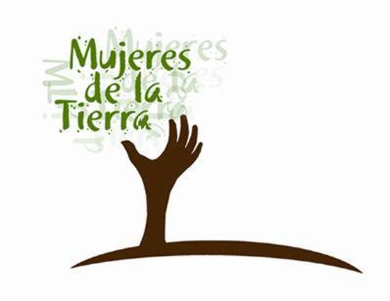Mujeres de la Tierra logo.
