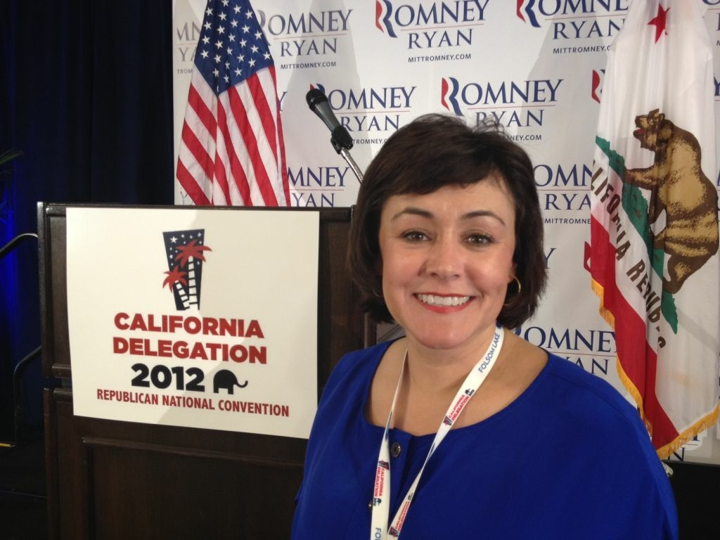 Alexandra Coronado, a music teacher from Cypress, is a delegate to the Republican National Convention.