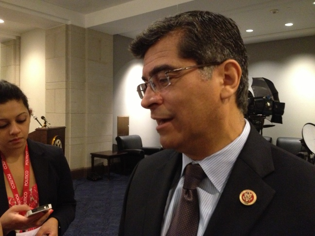 Democratic Congressman Xavier Becerra of Los Angeles