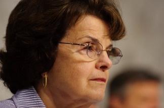 U.S. Sen. Dianne Feinstein.