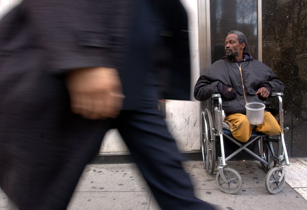 The US Census Bureau reports that 49.1 million Americans live in poverty.