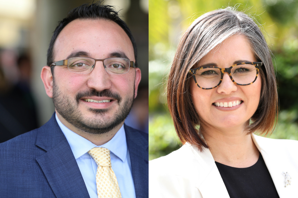 Los Angeles City Council District 7 candidates Karo Torossian and Monica Rodriguez face off in Tuesday's general election.
