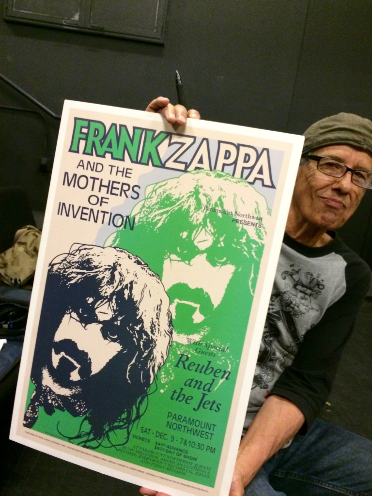 Rubén Guevara toured with some of the biggest names in music, including Frank Zappa and his band The Mothers of Invention.