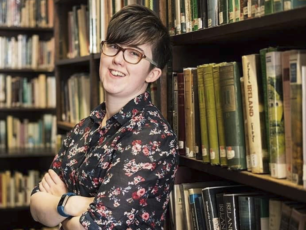 Irish journalist Lyra McKee who was shot and killed during clashes between militant republicans and police in Londonderry, Northern Ireland.
