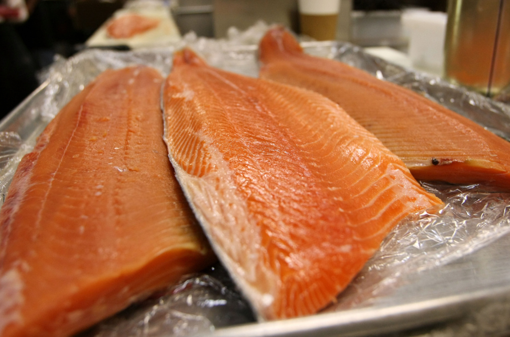 File Photo: A new study reports that people who eat baked or broiled fish at least once a week may be protecting their brains from Alzheimer's