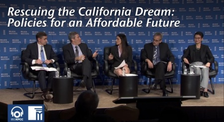 Rescuing the California Dream: Policies for an Affordable Future