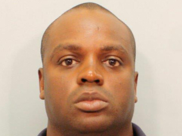This undated photo provided by the Harris County Sheriff's Office on Saturday shows Shannon J. Miles. Prosecutors in Texas are charging the 30-year-old man with capital murder in the killing of Darren Goforth, a sheriff's deputy who was gunned down from behind while filling up his patrol car at a suburban Houston gas station.