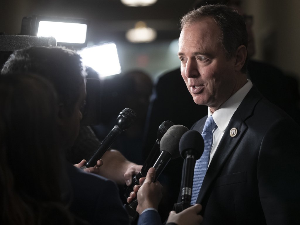 Rep. Adam Schiff, D-Calif., chairman of the House intelligence committee, argues there's already sufficient evidence in public to support an indictment of President Trump.