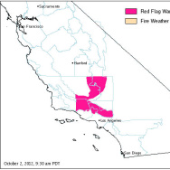 Red Flag Warning 10/2