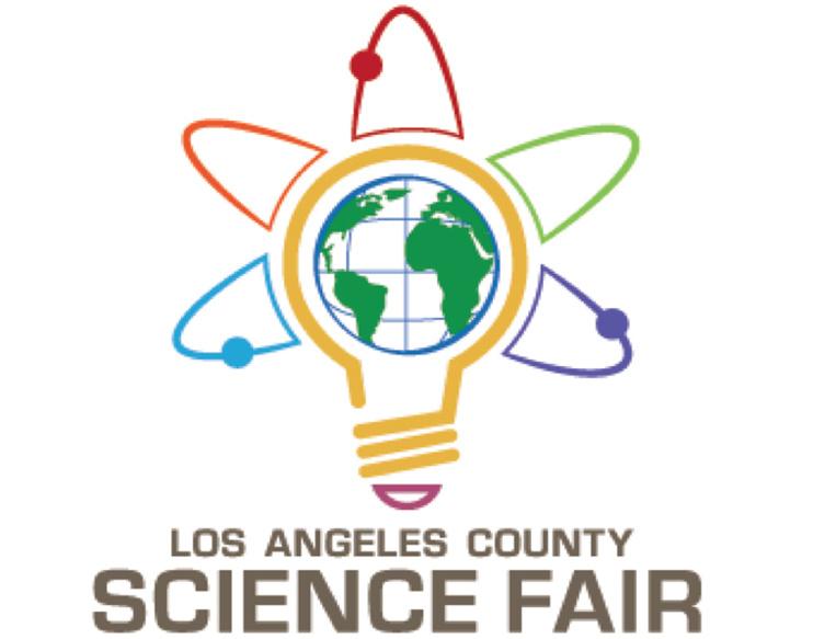 The logo for the LA County Science Fair.