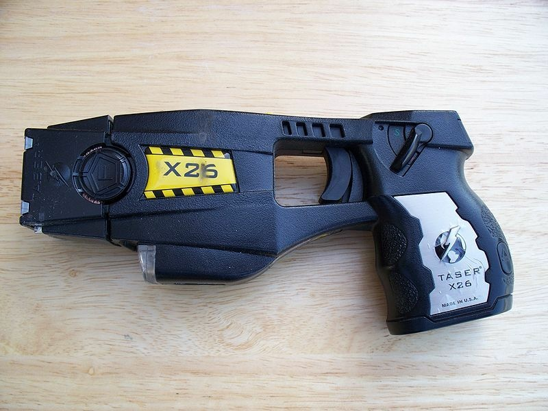 A police-issue Taser gun