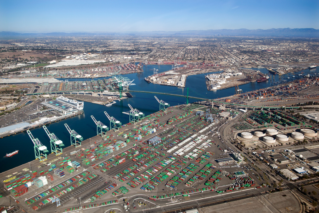 The Ports of Los Angeles and Long Beach are the busiest in the country. They are also the largest source of pollution in the South Coast.