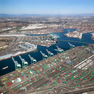 Port of Los Angeles.