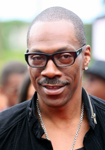 Actor Eddie Murphy arrives for the premi