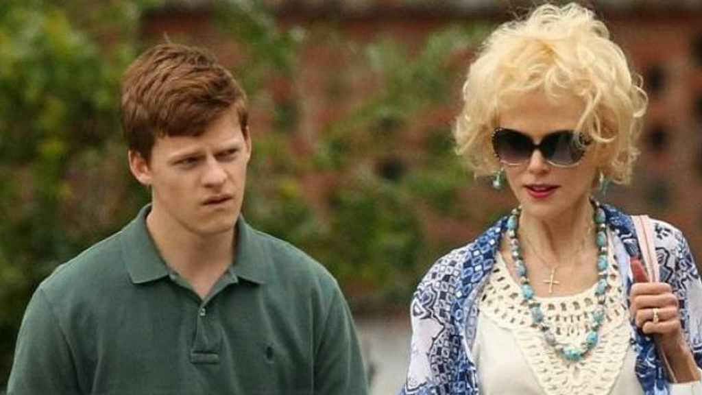 Lucas Hedges plays a teenager whose parents (Nicole Kidman and Russell Crowe) force him into gay conversion therapy in