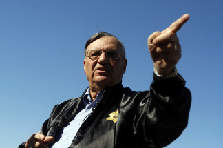Arizona's Joe Arpaio may indeed be America's Toughest Sheriff but he is also among the most controversial sheriffs in all the land. What good does parading prisoners in pink underwear down hot pavement do? Where did the idea come from to turn condemned jails into no-kill animal shelters? How does he feel about getting the cold shoulder from I.C.E.? Would these tactics fly in the City of Angels? Patt talks to the five term Sheriff and takes your calls.
