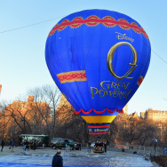 """Journey To OZ Balloon"" Arrives In Central Park For Disney's ""Oz The Great And Powerful"""