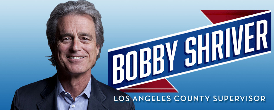 Former Santa Monica mayor Bobby Shriver will enter a race that already includes former State Senator Sheila Kuehl.
