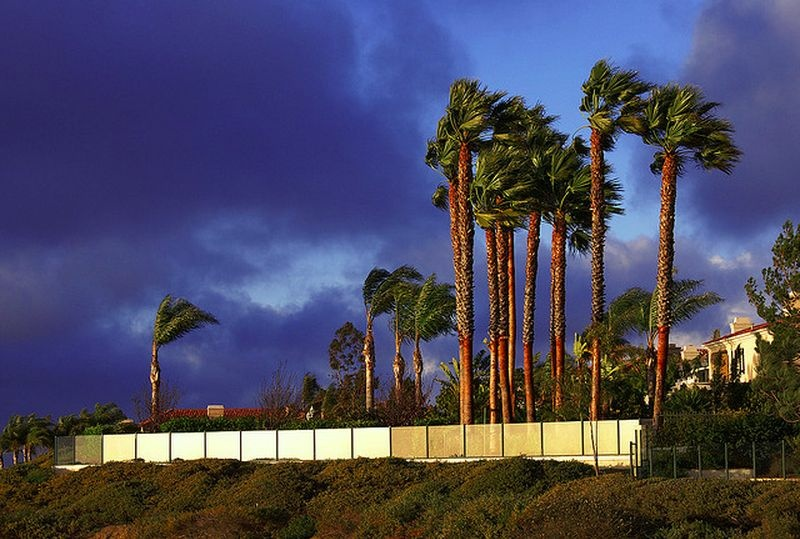 High winds and dry weather are forecast through Thursday across Southern California.