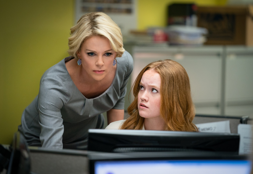 Charlize Theron and Liv Hewson in