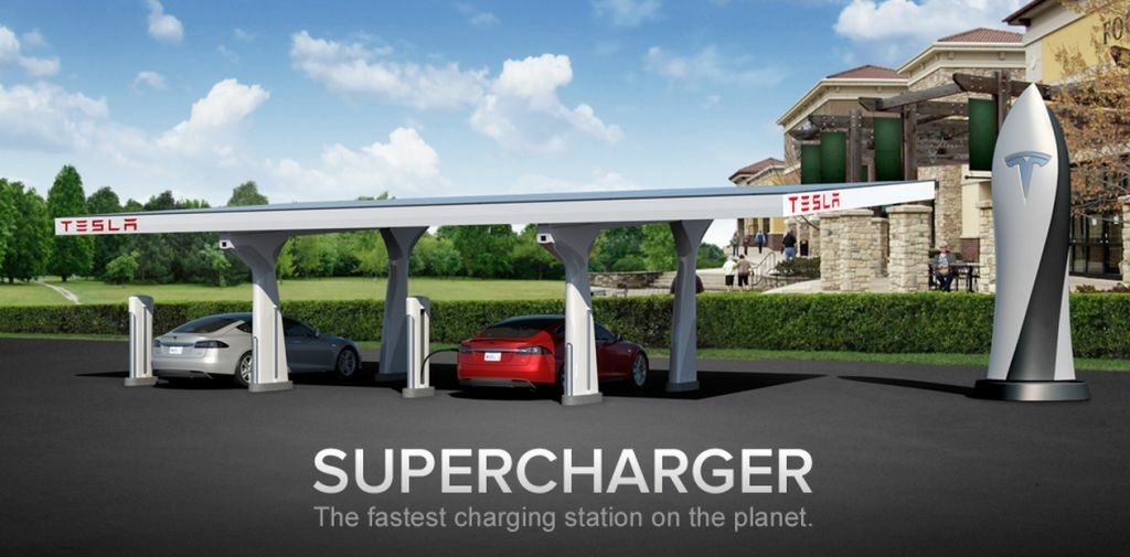 Tesla Motors has built a network of charging stations in California and recently completed two on the East Coast.