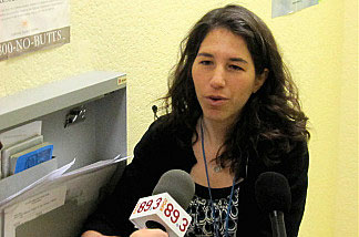 Dr. Ellen Rothman, director of quality assurance for St. John's Well Child and Family Center's Women's Health program.