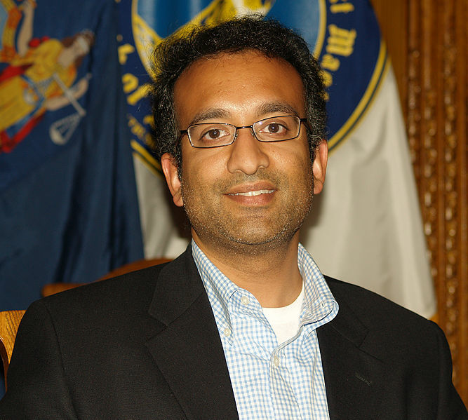 Rajiv Chandrasekaran at the 2007 Brooklyn Book Festival.