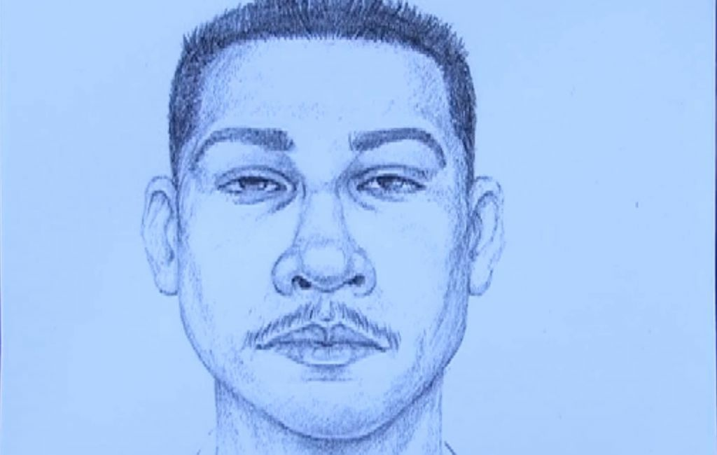 Police are describing the suspect as a a heavy-set Hispanic male in his 30s or 40s.