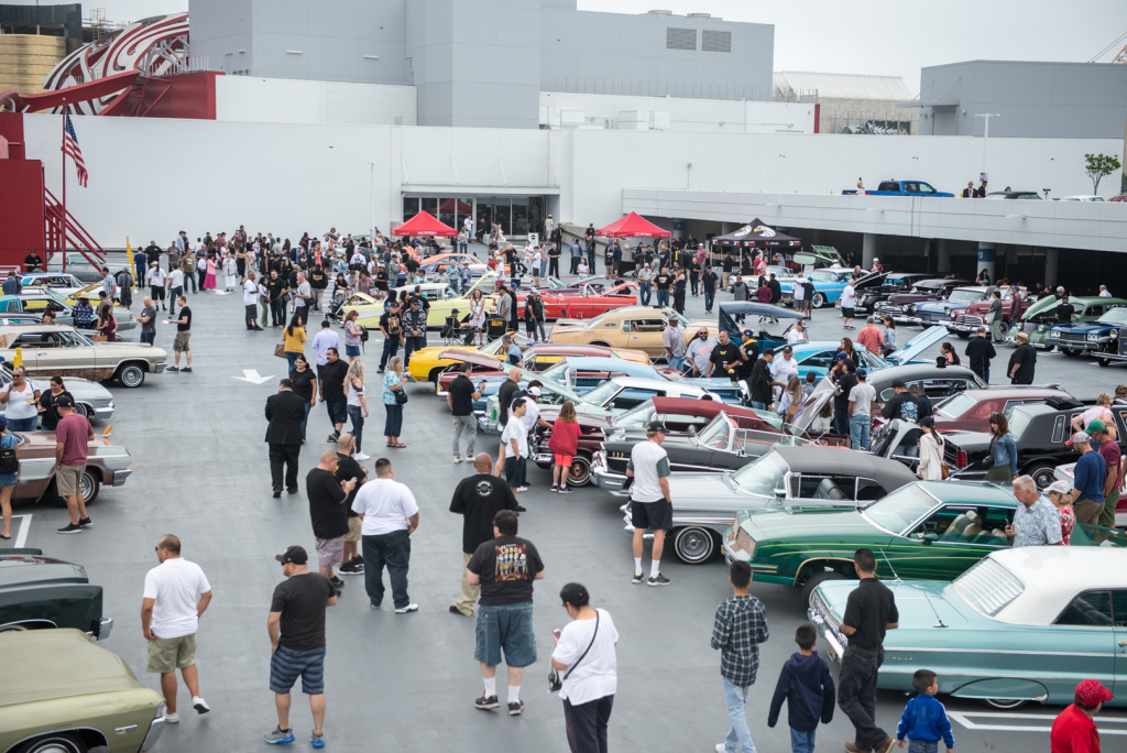 The Petersen Automotive Museum held a lowrider car show in conjunction with its exhibit, The High Art of Riding Low.