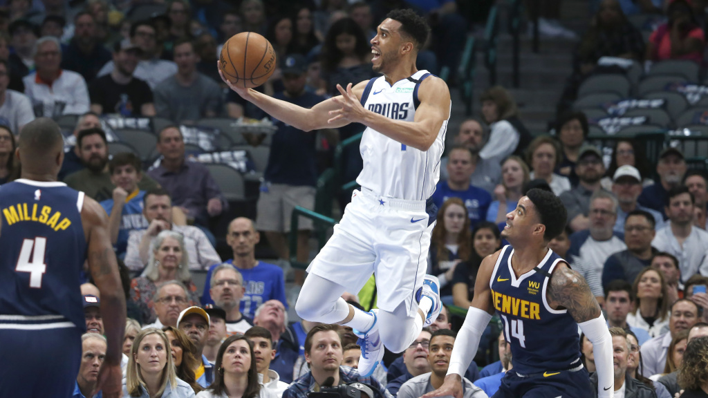 After the Dallas Mavericks-Denver Nuggets game Wednesday, the league suspended future play over coronavirus concerns.