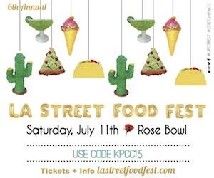 6th Annual LA Street Food Fest 2015