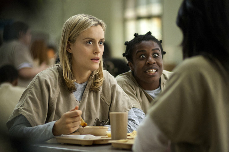 If 13 episodes in a row with Piper and Crazy Eyes sounds like your dream day, social scientists want to talk with you about your habits.