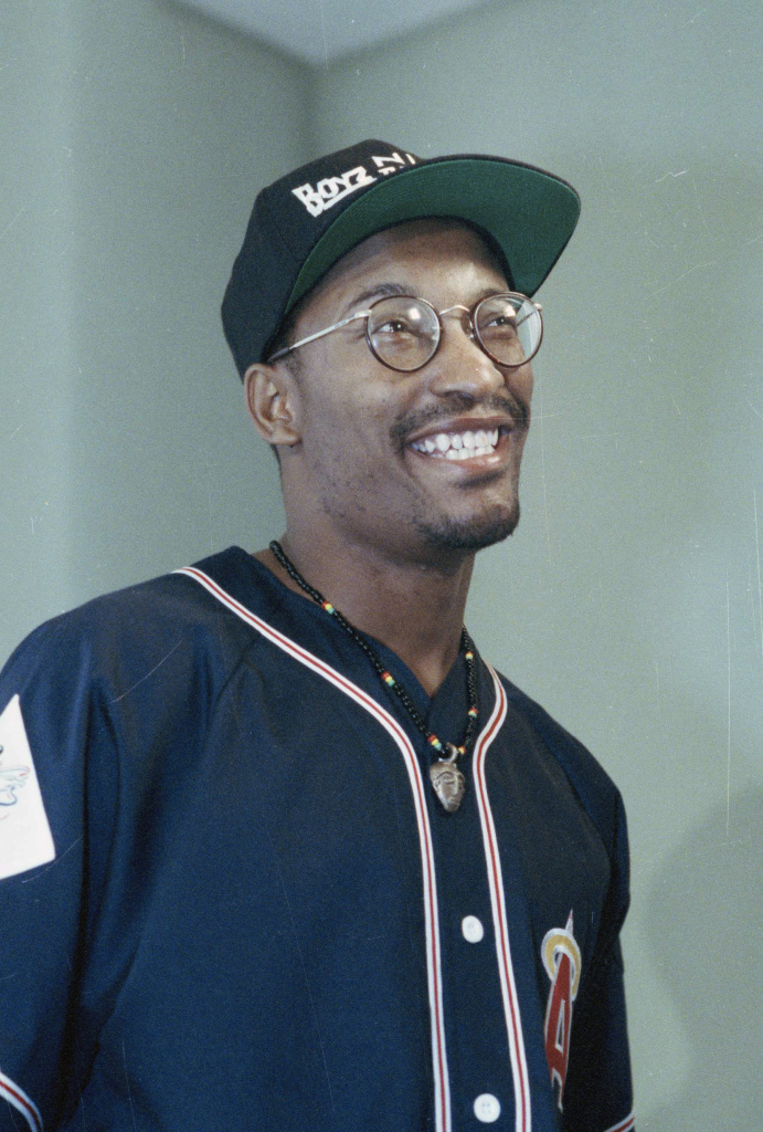 John Singleton, seen in Los Angeles in July 1991, not long after the release of <em>Boyz n the Hood</em>. The movie earned the young filmmaker two Oscar nominations.