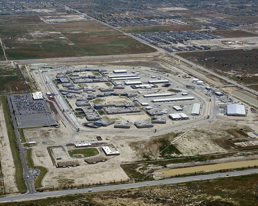 California State Prison—Los Angeles County in Lancaster.