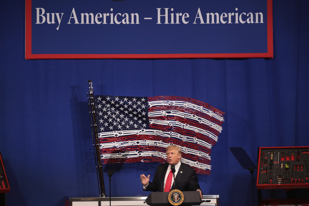 Trump orders review of visa program for highly skilled workers