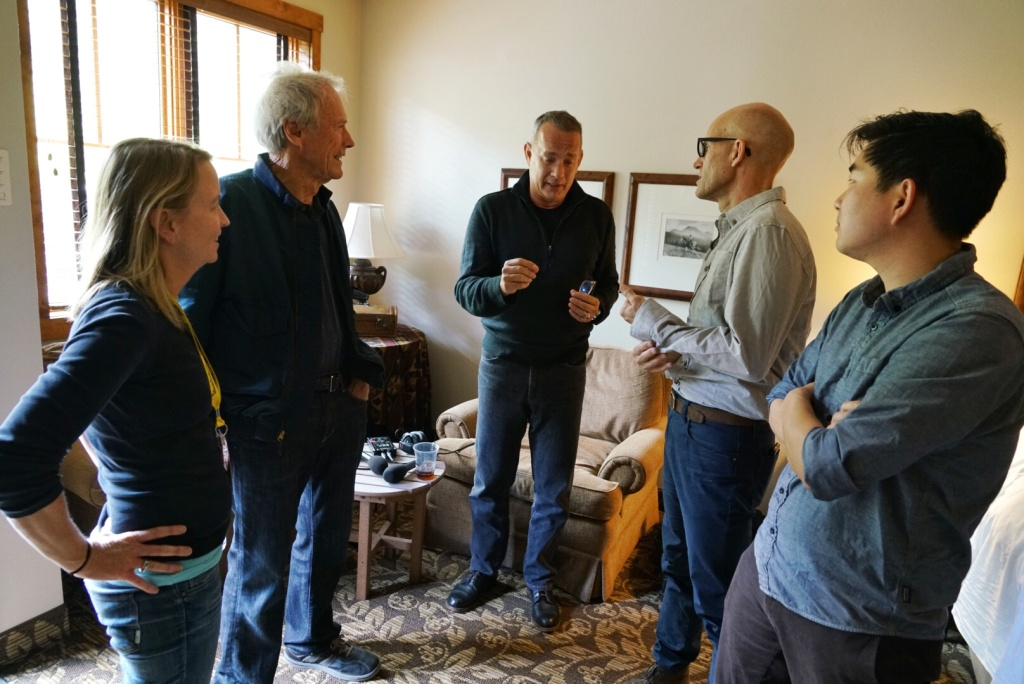 """Clint Eastwood and Tom Hanks talk with KPCC's The Frame about their new film, """"Sully."""" The movie made its debut at the 43rd annual Telluride Film Festival."""