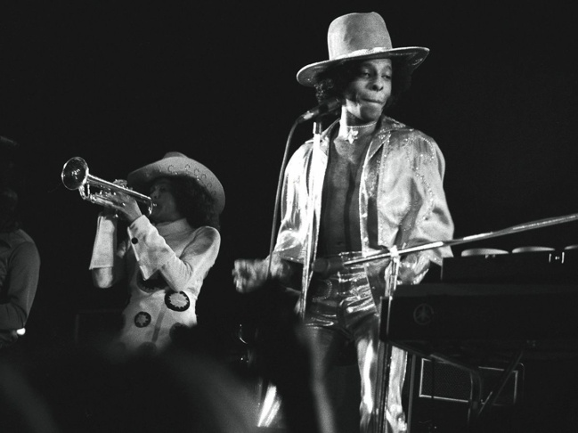 Sly & The Family Stone at the San Diego Sports Arena, Oct. 28, 1973.