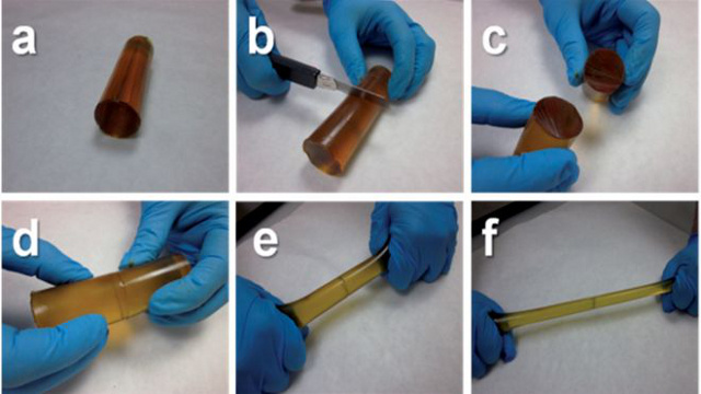 Spanish scientists have created a self-healing polymer.
