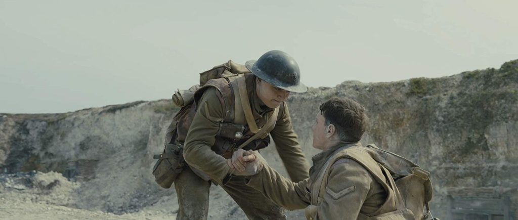 George MacKay and Dean-Charles Chapman in '1917'