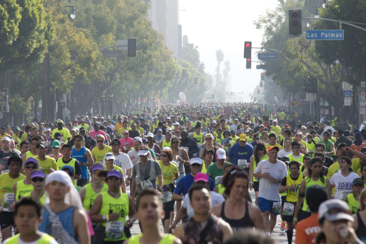 US-RUN-LOS ANGELES MARATHON