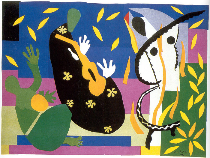 The King's Sadness, by Henri Matisse, 1952