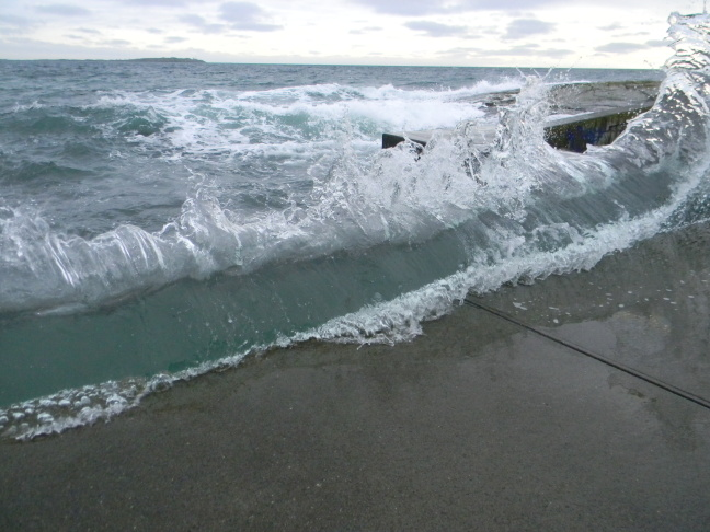 File photo: During three winter months every year, the backbeat of California's coast changes. King Tides, the highest highs and lowest lows, offer a glimpse of sea level rise.