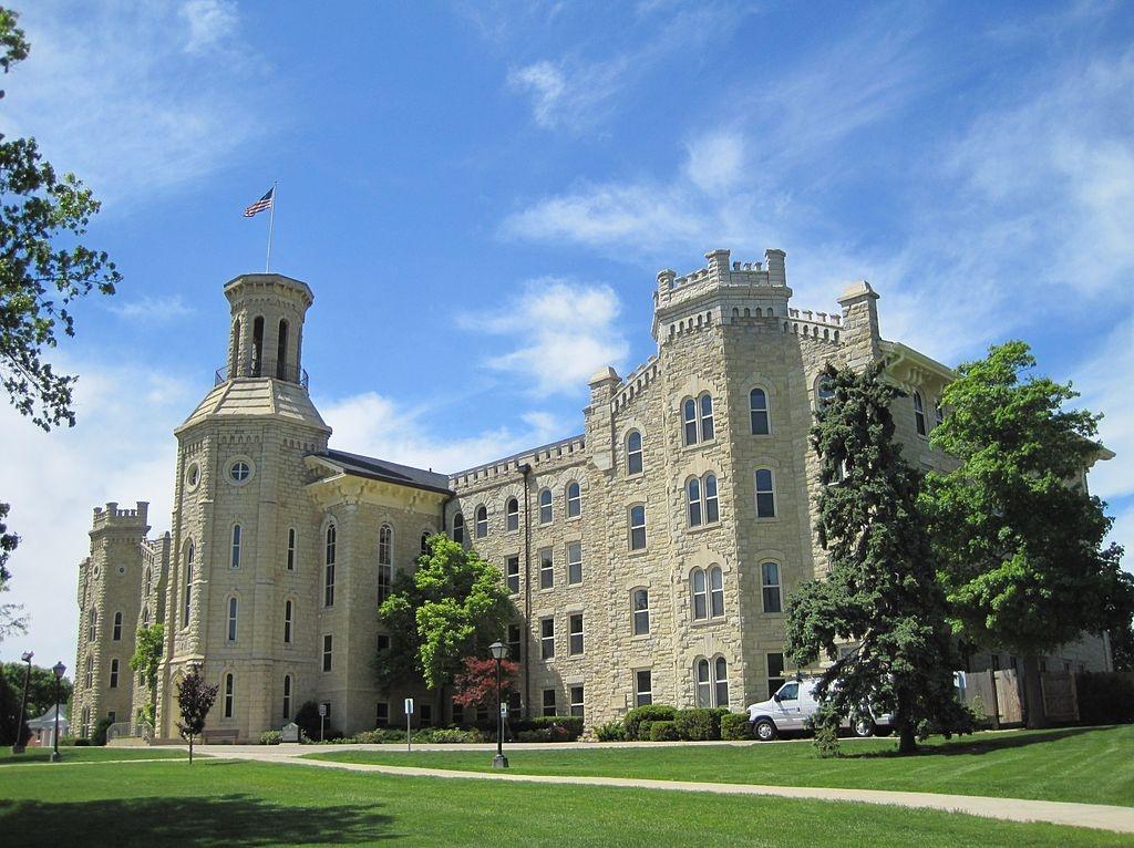 Wheaton College's Blanchard Hall.