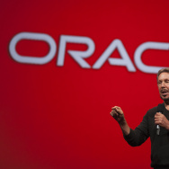 "Oracle Executive Chairman of the Board and Chief Technology Officer, Larry Ellison, delivers a keynote address during the 2014 Oracle Open World conference on September 28, 2014 in San Francisco, California. According to the ""Los Angeles Times,"" Larry Ellison gave $3 million to a committee promoting Sen. Marco Rubio of Florida"