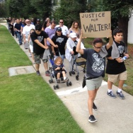 Walter DeLeon protest Los Feliz shooting