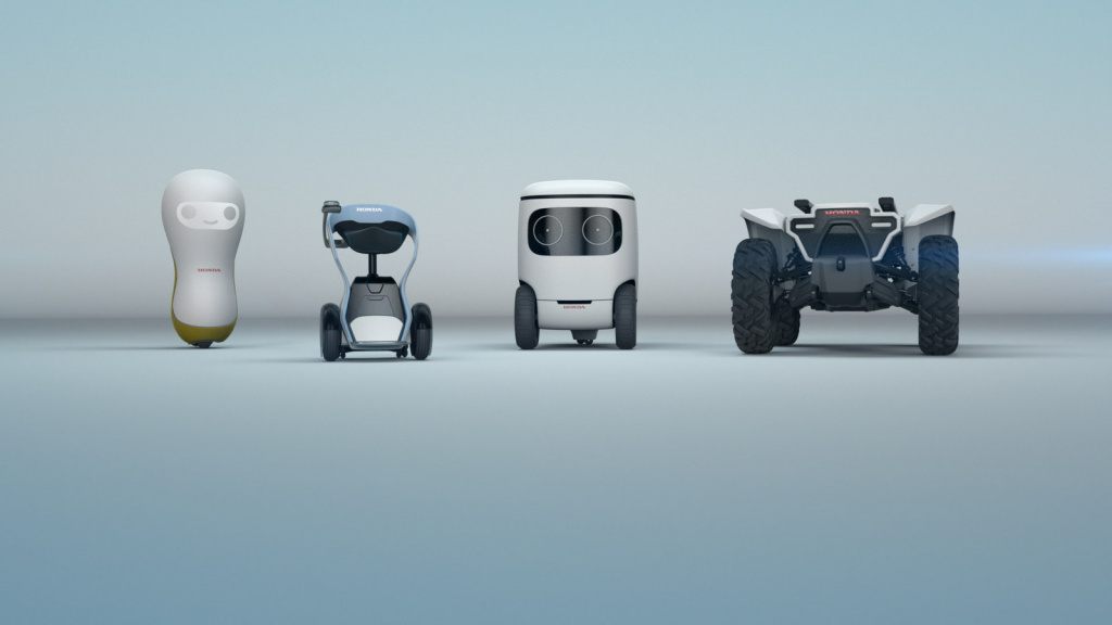 Honda shows off four robots at the 2018 Consumer Electronics Show that are designed to improve human life.