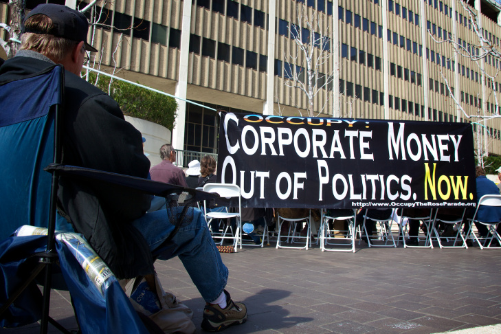 Corporate Money Out of Politics