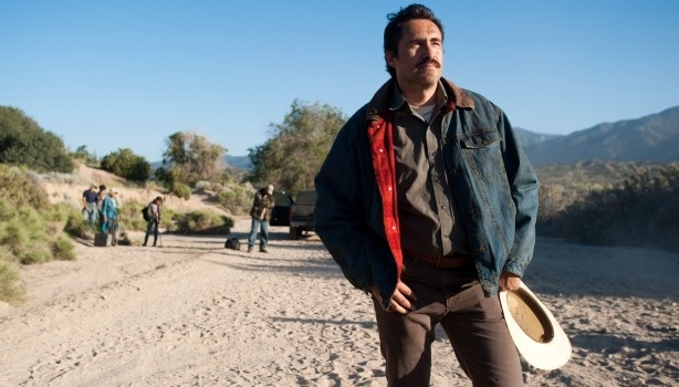 Demian Bichir plays gardener Carlos Galindo in the new film