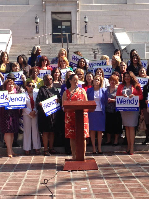 Once she is sworn in, Nury Martinez will be the only woman on the Los Angeles City Council.